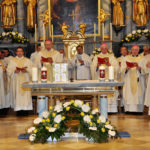 In der Mitte der Diözesanbischof von Eisenstadt