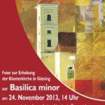 Die Einladung zum Fest der Basilikaerhebung