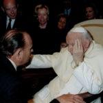Der Fürst mit Papst Johannes Paul II