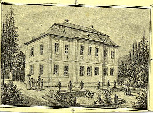 Villa von Antonia Johanna Ludovika, einer Schwester des Dr. Ladislaus Fürst Batthyány-Strattmann