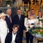 Die Taufe des kleinen Zsigmond in Güssing