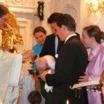 Eleonore (von Andreas und Isy) bei der hl. Taufe